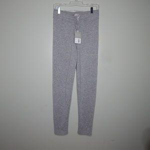 everlane women gray the cashmere sweatpant SZ S
